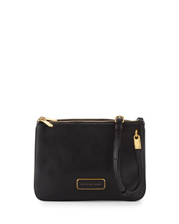 MARC by Marc Jacobs Ligero Double Percy Crossbody Bag, Black