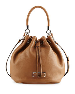 MARC by Marc Jacobs Too Hot To Handle Drawstring Bag, Light Chocolate
