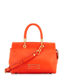 MARC by Marc Jacobs Too Hot To Handle Satchel Bag, Bright Tangelo