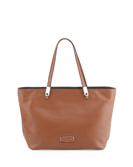 MARC by Marc Jacobs Ligero East-West Leather Tote Bag, Cinnamon Stick