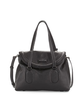 MARC by Marc Jacobs Silicone Valley Satchel Bag, Black