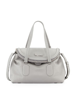 MARC by Marc Jacobs Silicon Valley Satchel Bag, Storm Cloud