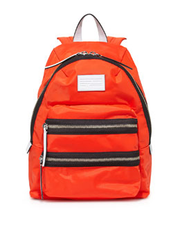 MARC by Marc Jacobs Domo Arigato Mini Packrat Backpack, Bright Tangelo