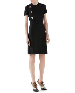 Gucci Wool Jersey Dress