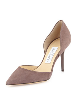 Jimmy Choo Addison Suede d'Orsay Pump