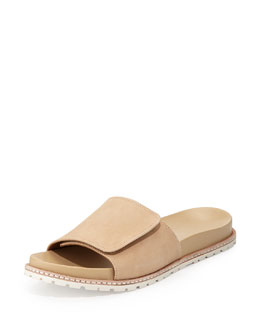 Derek Lam 10 Crosby Spencer Slip-On Sandal, Nude