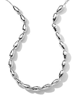 "Ippolita Hammered Silver Chain Necklace, 18""L"