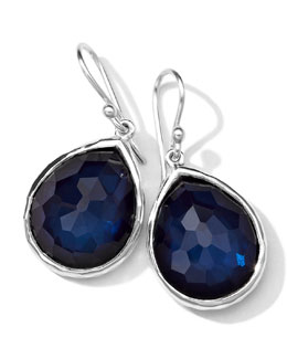 Ippolita Wonderland Quartz/Pyrite Teardrop Earrings