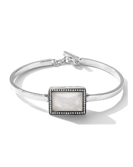 Ippolita Togglette Bracelet with Quartz Rectangle & Diamonds