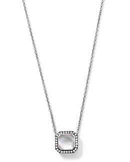 Ippolita Silver Stella Mother-of-Pearl Pendant Necklace with Diamonds