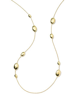 Ippolita 18k Gold Glamazon Multi Lollipop Station Necklace