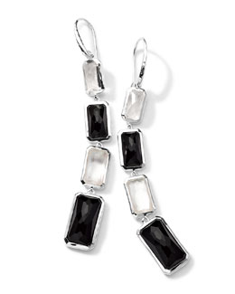 Ippolita Sterling Silver Wonderland 4-Stone Drop Earrings in Astaire