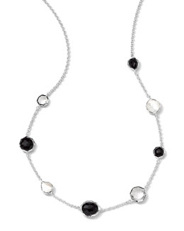 Ippolita Sterling Silver Wonderland Mini Gelato Short Station Necklace in Astaire, 16-18""
