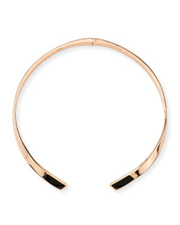 Pamela Love Irissa Onyx-Inlay Choker Necklace