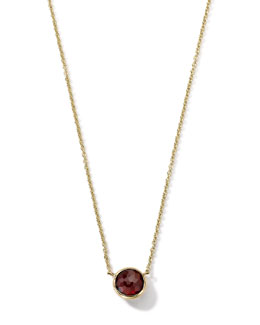 Ippolita 18K Gold Mini-Lollipop Birthstone Necklace (January), 16-18""