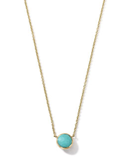 Ippolita 18K Gold Mini-Lollipop Birthstone Necklace (December), 16-18""