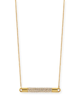 Vita Fede Turntable Pave Crystal Necklace