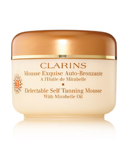 Clarins Delectable Self-Tanning Mousse SPF 15