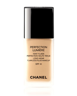 CHANEL <b>PERFECTION LUMIÈRE </b><br>Long Wear Flawless Fluid Makeup SPF 15