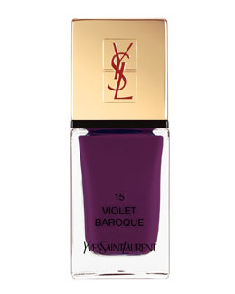 Yves Saint Laurent Beaute La Laque No15 Violet Baroque