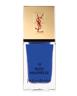 Yves Saint Laurent Beaute La Laque No18 Bleu Majorelle