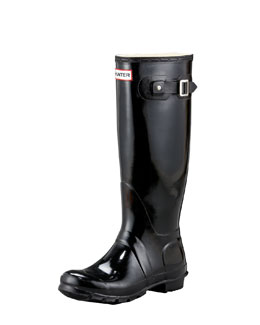 Hunter Boot Gloss Welly Boot
