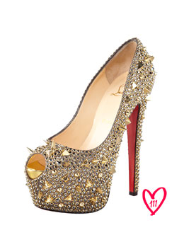 Christian Louboutin BG 111th Anniversary Extreme Highness Platform Red Sole Pump