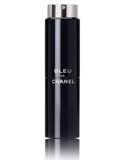 CHANEL <b>BLEU DE CHANEL</b><br> Eau de Toilette Refillable Travel Spray 3 X 0.7 oz.