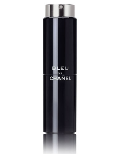<b>BLEU DE CHANEL</b><br> Eau de Toilette Refillable Travel Spray 3 X 0.7 oz.