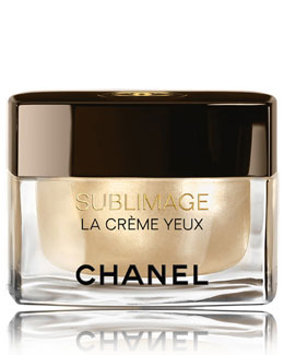 CHANEL <b>SUBLIMAGE LA CRÈME YEUX</b><br>Ultimate Skin Regeneration Eye Cream 0.5 oz.