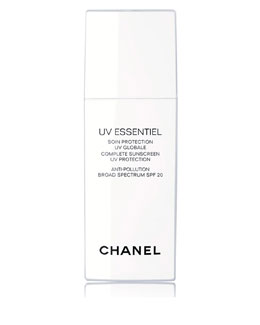 CHANEL <b>UV ESSENTIEL </b><br>Complete Sunscreen UV Protection Anti-Pollution Broad Spectrum SPF 20