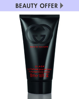 Gucci Fragrance Yours with any $64 Gucci Black Fragrance purchase
