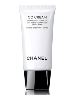 CHANEL <b>CC CREAM</b><br>Complete Correction Sunscreen Broad Spectrum SPF 50, 1.0 oz.