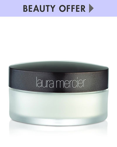 Yours with any $50 Laura Mercier purchase—Online only*