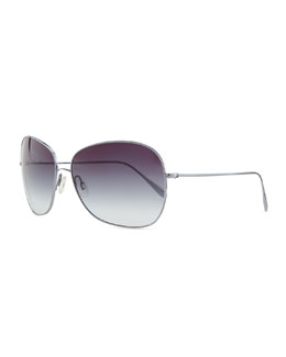 Oliver Peoples Elsie Sunglasses, Pacific Gradient