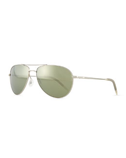 Oliver Peoples Benedict Photochromic Aviator Sunglasses