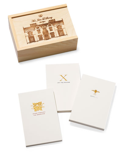 Gossip Box Tablets with Keepsake Crate