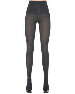Haute Contour Tights, Charcoal
