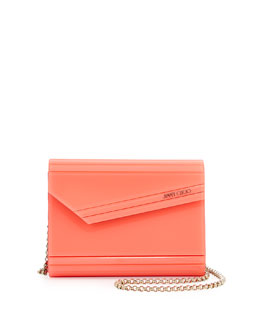 Jimmy Choo Candy Acrylic Crossbody Bag, Pink