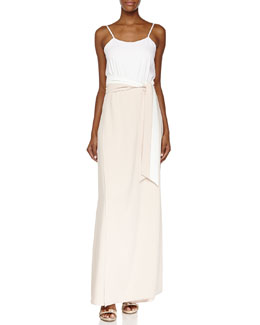 Alice + Olivia Neal Full-Length Skort Jumpsuit