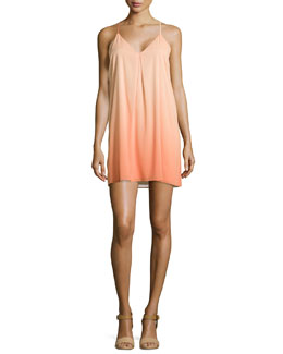 Alice + Olivia Fierra Ombre Racerback Dress