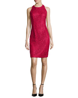 Lace Sleeveless Sheath Dress