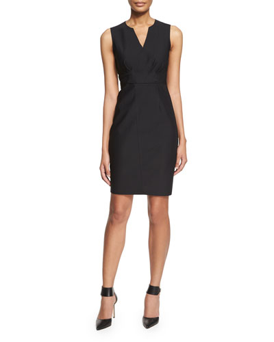 Vernon Sleeveless Sheath Dress