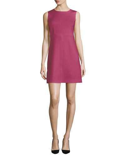 Sleeveless Carrie Sheath Dress, Dragon Fruit