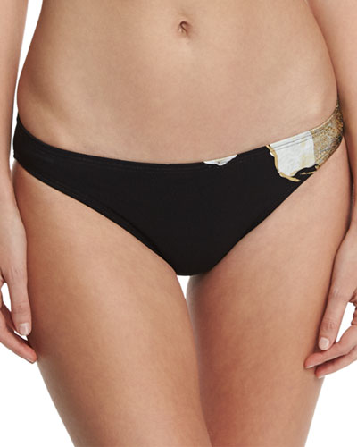 Gilded Garden Hipster Swim Bottom