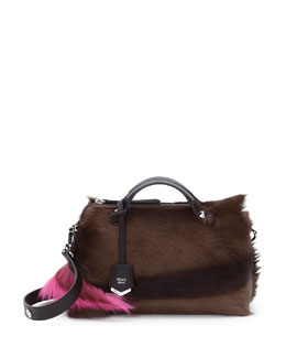 Fendi By The Way Small Fur Satchel Bag