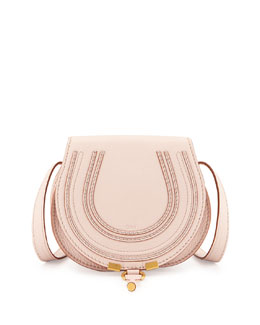 Chloe Marcie Small Crossbody Bag, Nude Pink