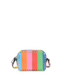 Valentino 1973 Rockstud Camera Crossbody Bag
