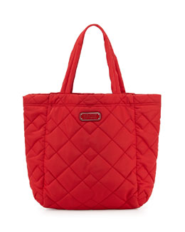 MARC by Marc Jacobs Crosby Quilted Tote Bag, Rosey Red
