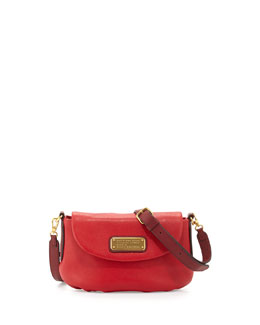 MARC by Marc Jacobs New Q Percy Flap Crossbody Bag, Rosy Red Multi